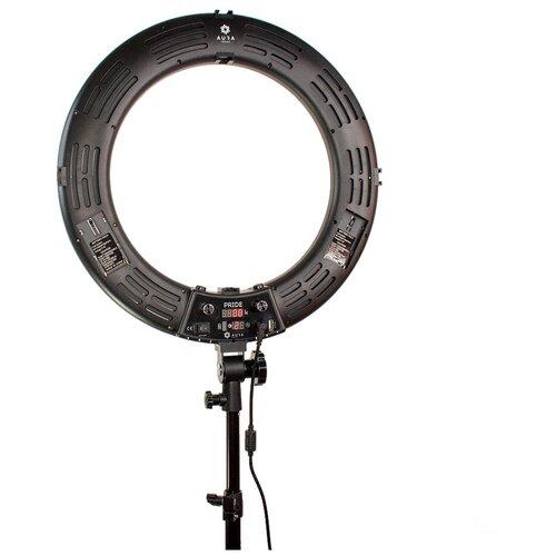 Фото - Лампа кольцевая Aura Helle Pride Black кольцевая лампа luazon aks 06 white 4090260