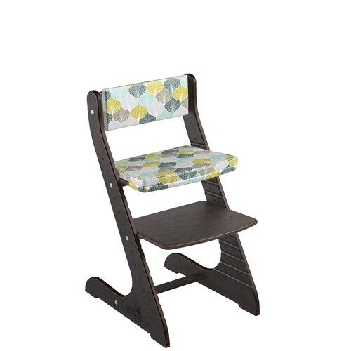 Фото - Комплект растущий стул и подушки Конёк Горбунёк СТАНДАРТ, цвет Венге/Листья стульчики для кормления конёк горбунёк цветной однотонный