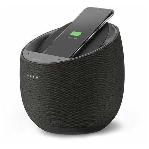 Фото - Belkin Soundform Elite Hi-Fi Smart Speaker + беспроводное зарядное устройство Black (G1S0001tt-BLKV2) зарядное устройство belkin mixit metallic black