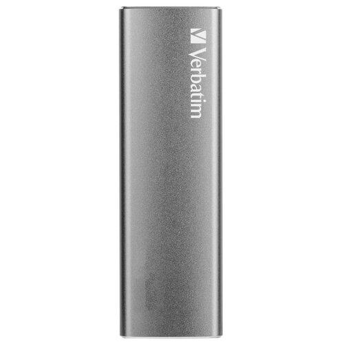 Фото - Внешний SSD Verbatim Vx500 External 480 GB, серый космос внешний ssd verbatim surefire gx3 gaming 512 gb черный