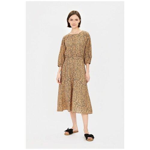 Фото - Платье Baon, размер XXL, beige printed шорты baon размер xxl 52 dark beige