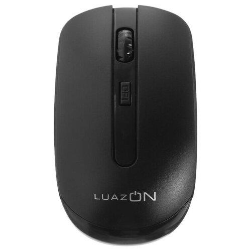 Беспроводная мышь LuazON Man черный