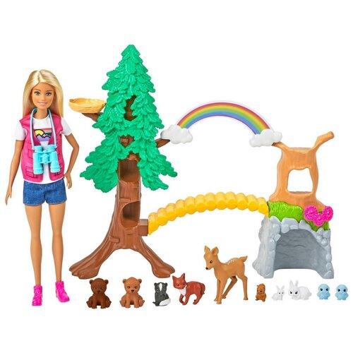 Фото - Игровой набор Barbie Исследователь дикой, GTN60 набор игровой barbie оздоровительный спа центр gjr84