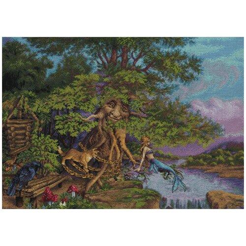 Фото - Набор для вышивания PANNA Лукоморье 47.5x33.5 см лукоморье трикотаж колготки детские лукоморье лиана ажурные синий 122 128