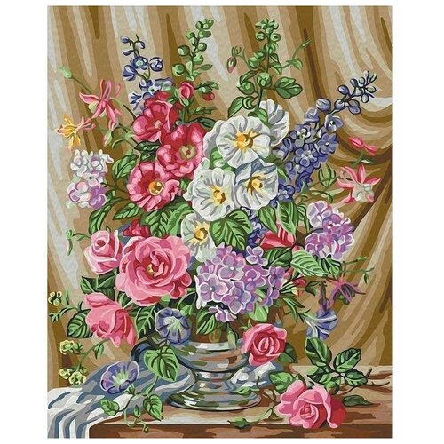 картины по номерам color kit картина по номерам розы для любимой Color Kit Картина по номерам Розы в цвету 40х50 см (CG918)