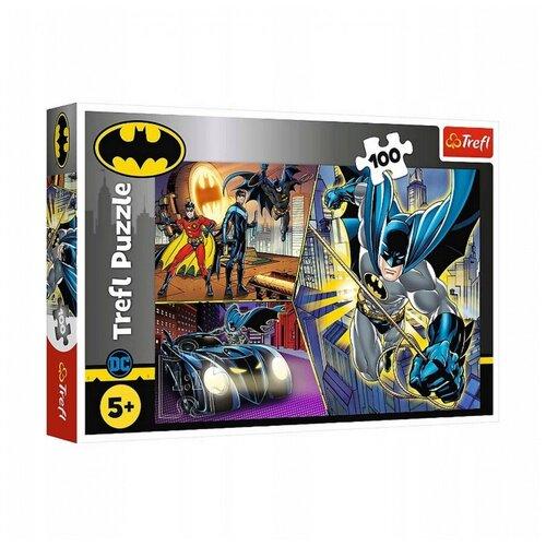 Купить Пазл Trefl Бэтмен, 100 деталей, Пазлы