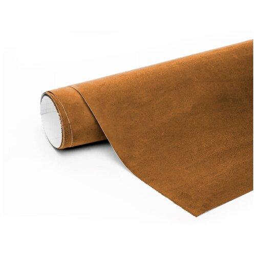 Алькантара пленка автомобильная - 15*1,46 м, цвет: светло-коричневый