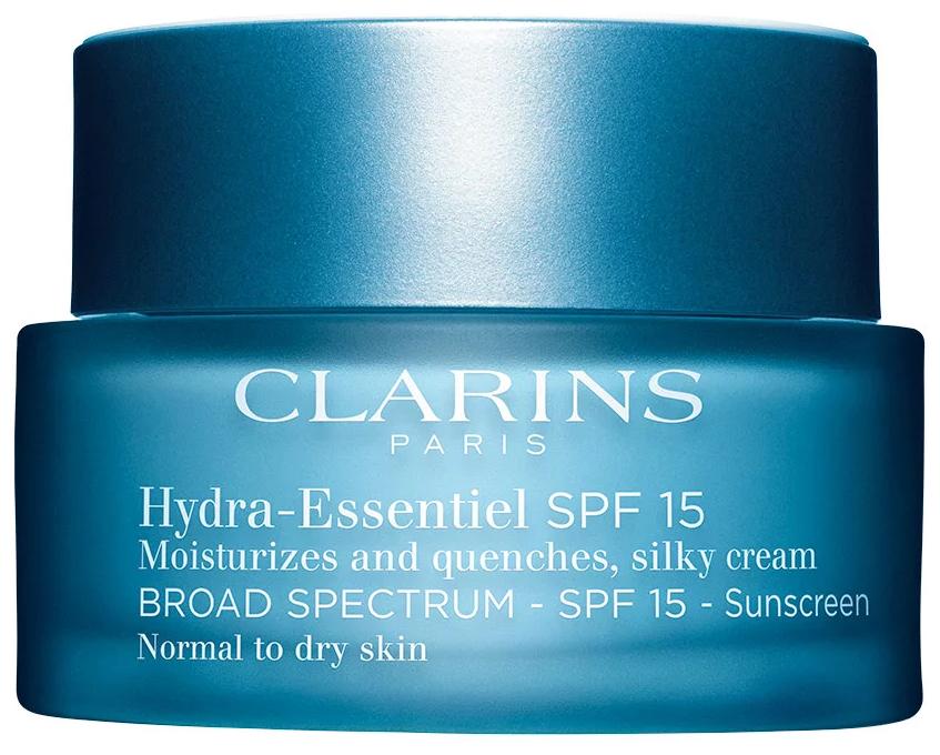 Clarins Hydra-Essentiel Интенсивно увлажняющий крем для нормальной и склонной к сухости кожи лица SPF 15 — купить по выгодной цене на Яндекс.Маркете