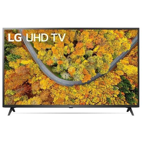 Телевизор LG 50UP76006LC 50, черный телевизор lg 32lv340c черный