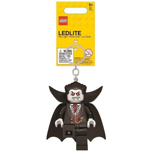 Брелок-фонарик LEGO LGL-KE133, черный брелок фонарик lego lgl ke65 красный