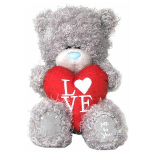 Мягкая игрушка Me to you Мишка Тедди с сердцем Love 13 см
