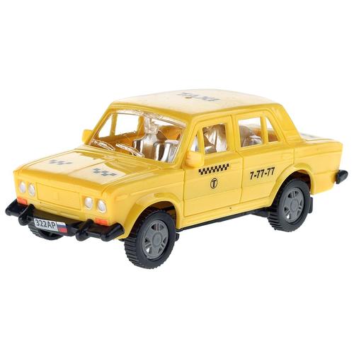 Машинка АВТОRus Такси (322АР), желтый