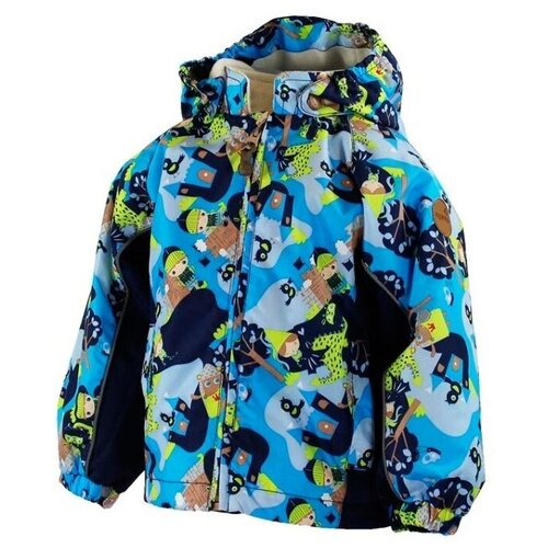 Фото - Куртка Huppa Junior 1723CS15 р-р 86 blue pattern/peacoat шапка шлем huppa размер s blue