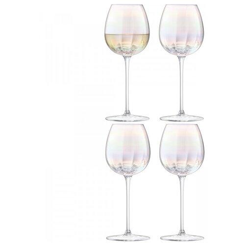 Бокал для белого вина Pearl 4 шт. LSA G1332-12-401 бокал для белого вина pearl 4 шт lsa g1332 12 401