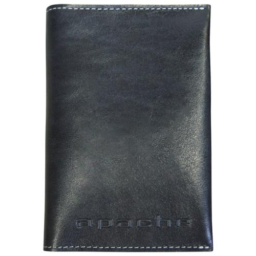 Обложка для паспорта Apache ОП-L, черный