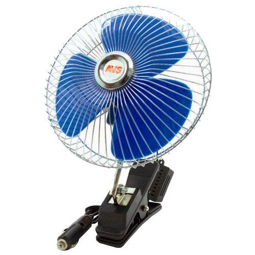 Автомобильный вентилятор AVS Comfort 8048C, синий