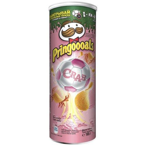 Чипсы Pringles картофельные, со вкусом краба, 19 шт по 165 г чипсы pringles картофельные spring onion 165 г