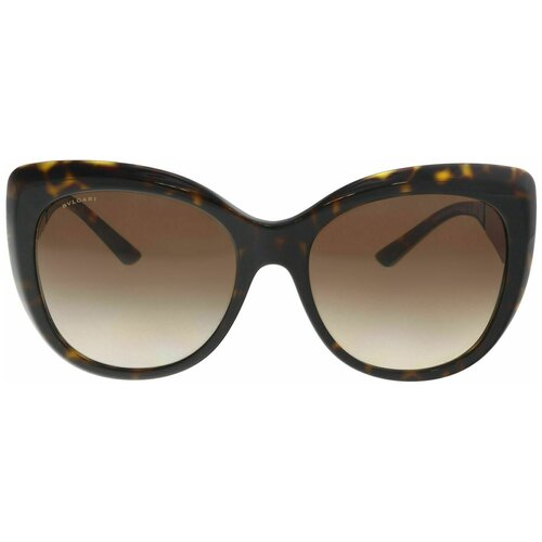 Очки Bvlgari BV 8198-B Women's Sunglasses 5441/13 Dark Havana/Gold Brown Gradient 57 carrera hot s adult fashion sunglasses eyewear green havana silver brown gradient