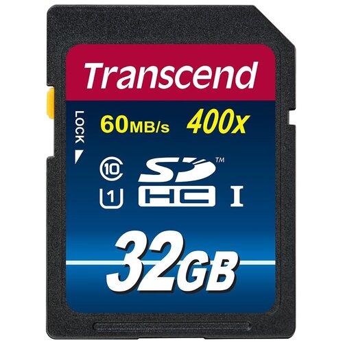 Фото - Карта памяти Transcend TS*SDU1 400x 32 GB, чтение: 60 MB/s карта памяти 32gb transcend cf 400x
