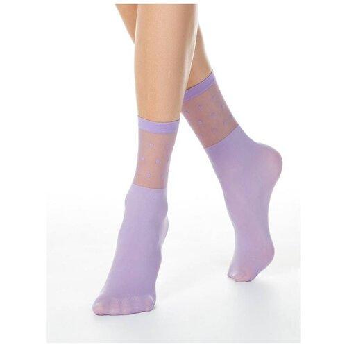 Капроновые носки Conte Elegant 19С-29СП, размер 23-25, violet