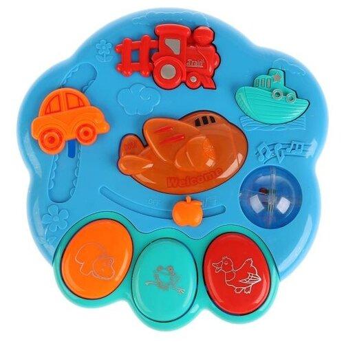 Купить Развивающая игрушка Умка Пианино-погремушка со стихами М. Дружининой мультицвет, Развивающие игрушки