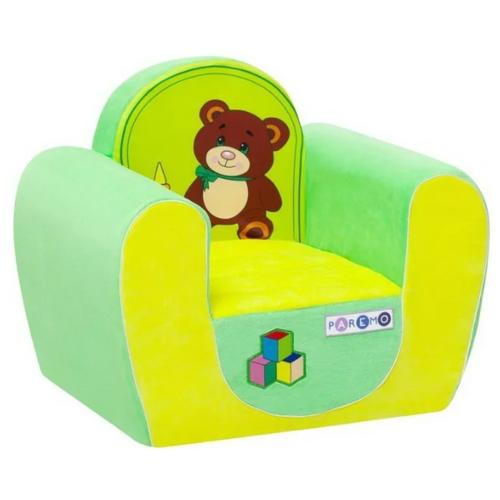 Кресло PAREMO детское PCR316 размер: 54х38 см, обивка: ткань, цвет: медвежонок
