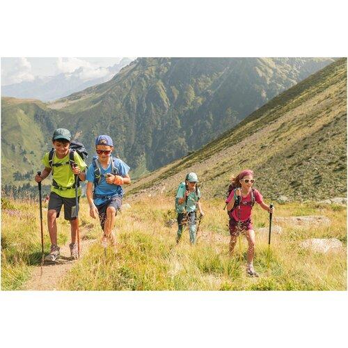 Купить Очки солнцезащитные для походов категории 3 для детей от 10 лет MH T140, размер: NO SIZE, цвет: Пурпурно-Красный/Сливово-Бордовый QUECHUA Х Декатлон, Decathlon