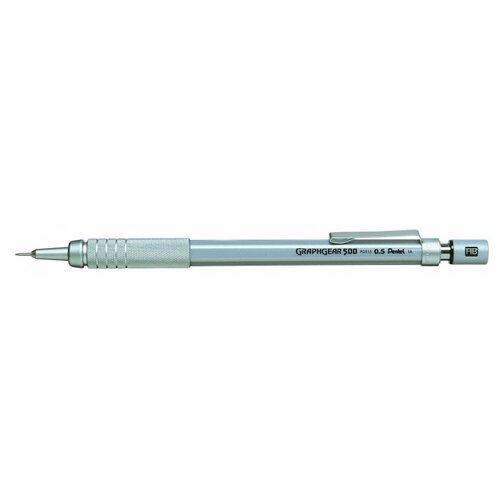 Купить Pentel Механический карандаш Graphgear 500 HB, 0.5 мм, Механические карандаши и грифели