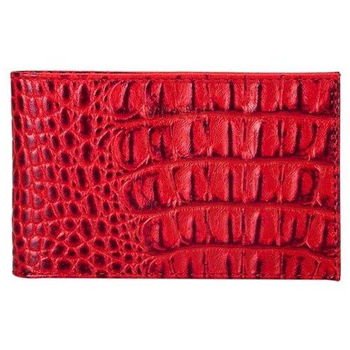 Фото - Визитница FABULA V.30.KM, красный ключница fabula kl 56 bk красный