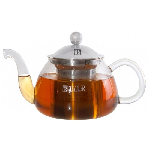Taller Заварочный чайник Хансен TR-1346 700 мл, прозрачный 1360 tr чайник заварочный taller 600 мл