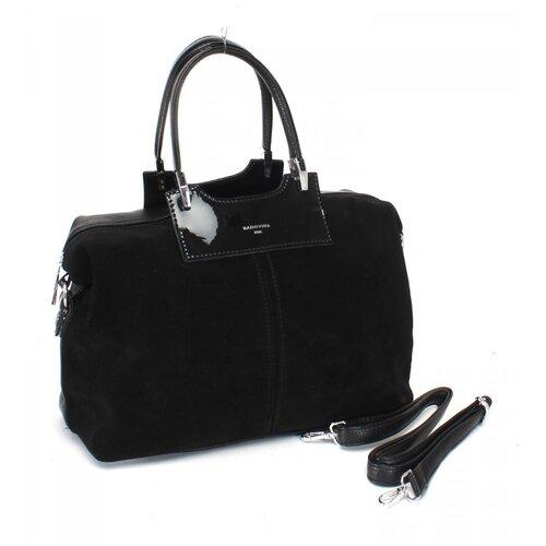 Женская сумка-тоут экокожа(искусственная кожа) + натуральная замша Kenguluna 532399