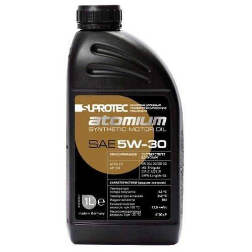 Фото - Синтетическое моторное масло Suprotec Atomium 5W-30 1 л suprotec mototec 2 0 1 л