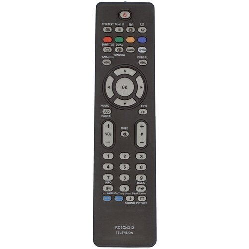 Фото - Пульт Huayu RC-2034312/01 для телевизора Philips пульт rc1454502 01 streamium philips для телевизора philips