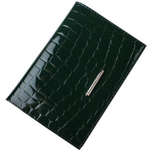 Обложка для паспорта Dimanche Nice, зеленый