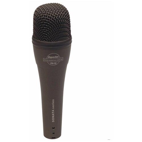 Вокальный динамический микрофон, суперкардиоида Superlux FH12