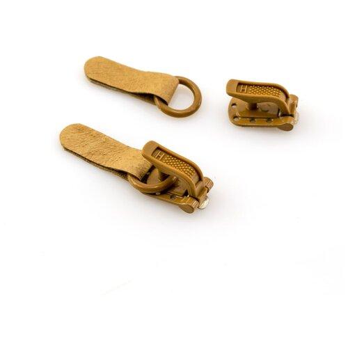 Крючки шубные, крючки+петли, 100 шт, цвет коричневый HEMLINE 100 шт * ( +402M+R.BROWN )