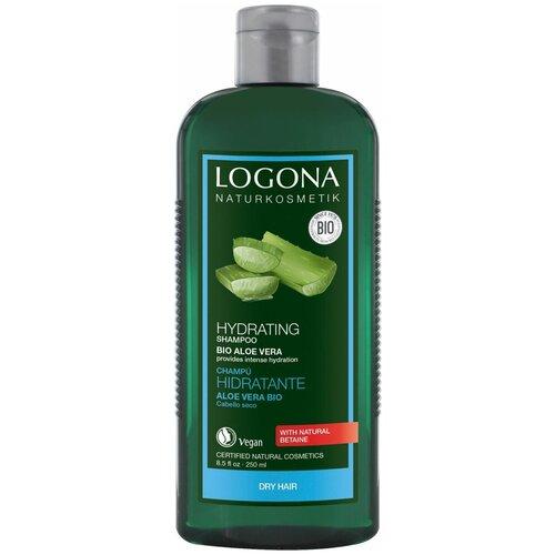 Купить Logona шампунь Hydrating Bio-aloe vera Увлажняющий, 250 мл