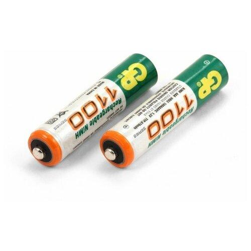 Фото - Аккумуляторы типа AAA GP (комплект 2 штуки) 950mAh аккумуляторы gp 1000 мач в комплекте с зарядным устройством адаптером 1а и кабелем