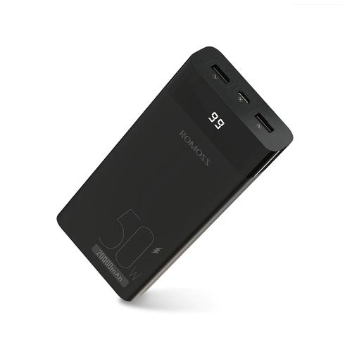 Внешний аккумулятор для зарядки ноутбуков Romoss PPD20 20000 mAh
