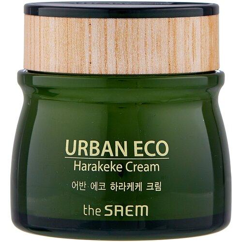 Купить The Saem Urban Eco Harakeke Cream Увлажняющий крем для лица с экстрактом новозеландского льна, 60 мл