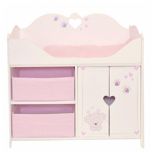Купить Кроватка-шкаф для кукол PAREMO Рони стиль 2 PRT220-02, Мебель для кукол