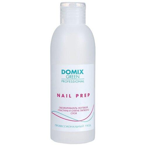Купить Domix Green Professional Обезжириватель ногтевой пластины и средство для снятия липкого слоя Nail Prep 2 в 1 200 мл