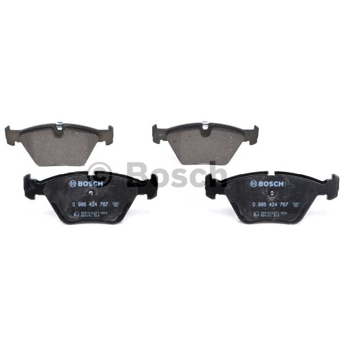 Дисковые тормозные колодки передние Bosch 0986424767 для BMW 3 series, BMW X3, BMW Z4 (4 шт.)
