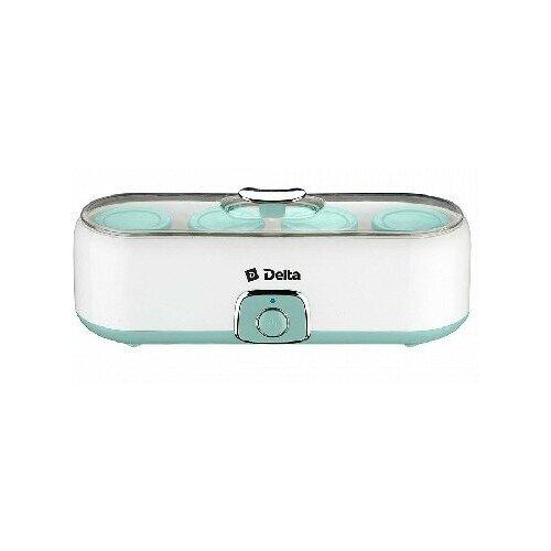 Йогуртница Delta DL-8402 серый/зеленый