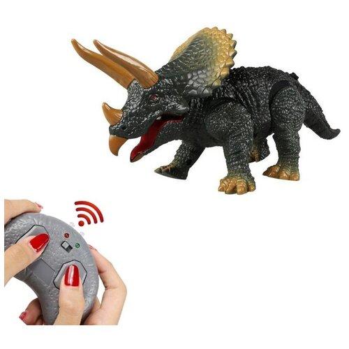Радиоуправляемый робот ZF динозавр Трицератопс - 9988B