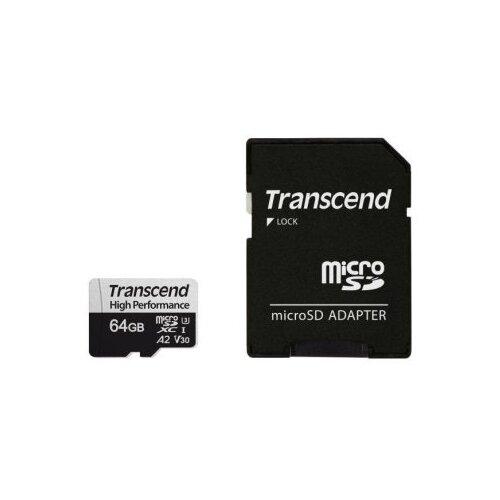 Фото - Карта памяти Transcend High Performance 330S 64 GB, чтение: 100 MB/s, адаптер на SD adidas performance men s nitrocharge 2 0 fg soccer shoe