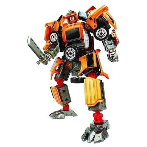 Купить Робот-трансформер Happy Well Hummer H2 55030, оранжевый, Роботы и трансформеры