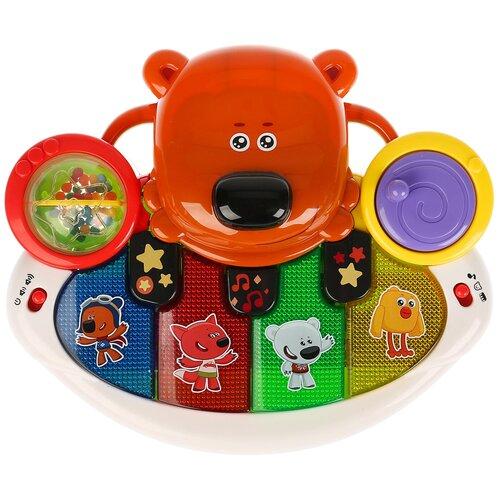 развивающая игрушка умка обучающее пианино м дружинина разноцветный Развивающая игрушка Умка Музыкальное пианино Ми-ми-мишки, мультиколор