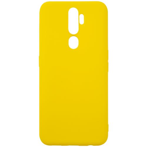 Чехол для Oppo A5 (2020)/Oppo A9 (2020)/Oppo A11X, силиконовая накладка, желтый