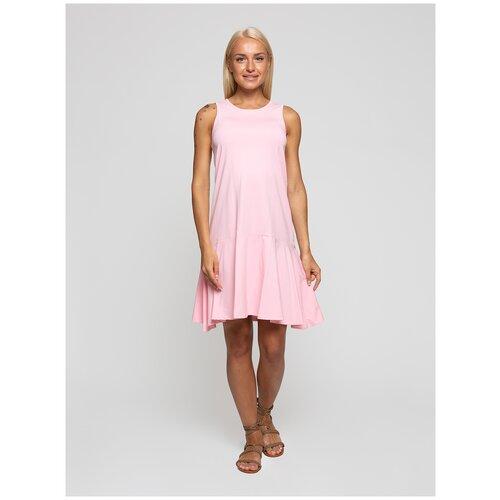 Женское легкое платье сарафан, Lunarable розовое, размер 44